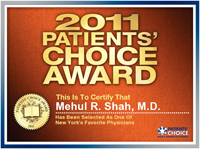 2011 Patients Choice Award