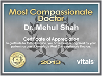 2013 Most Compassionate Doctor