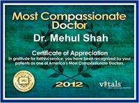 2012 Most Compassionate Doctor