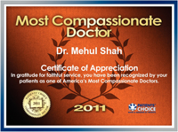 2011 Most Compassionate Doctor